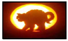 Carving pumpkins using templates and stencils