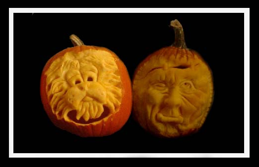 Cool pumpkin carvings and sculptures